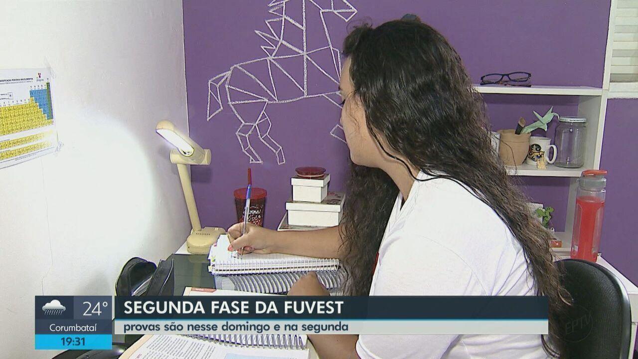 Estudantes de Araraquara não têm folga na preparação para a 2ª fase da Fuvest