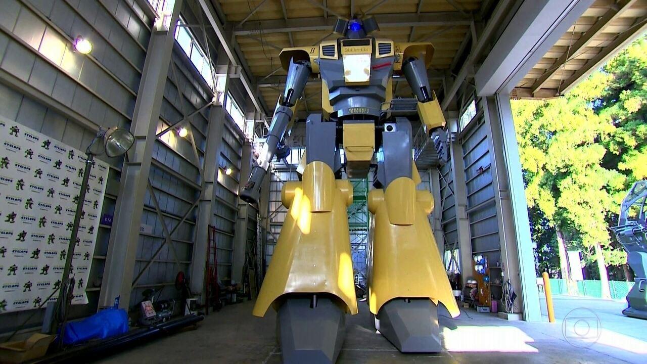 Japones Cria Robo Gigante De Mais De Oito Metros De Altura