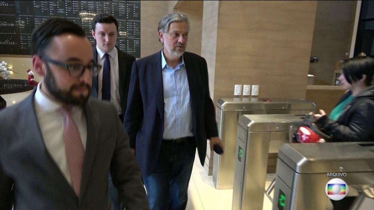 Nesta segunda-feira (7), Palocci começou a prestar depoimento aos procuradores da Operação Greenfield