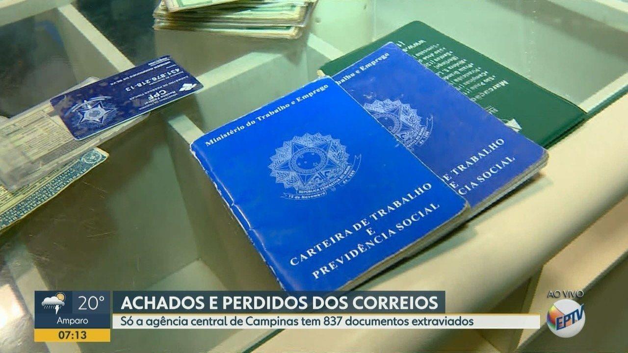 Correios têm centenas de documentos perdidos em Campinas