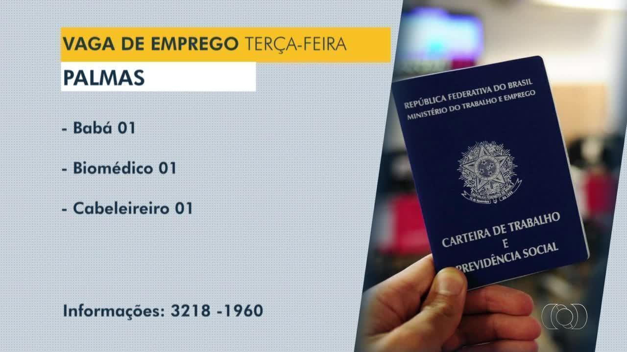 Veja vagas de emprego disponíveis para Palmas, Porto Nacional e Gurupi