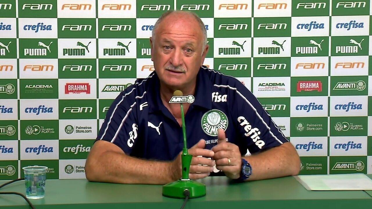Felipão fala sobre interesse chinês em Dudu e espera contar com o atacante no Palmeiras