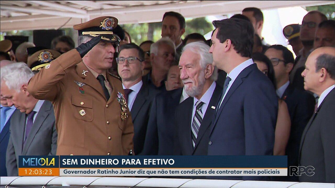 Coronel Péricles de Matos assume a Polícia Militar do Paraná