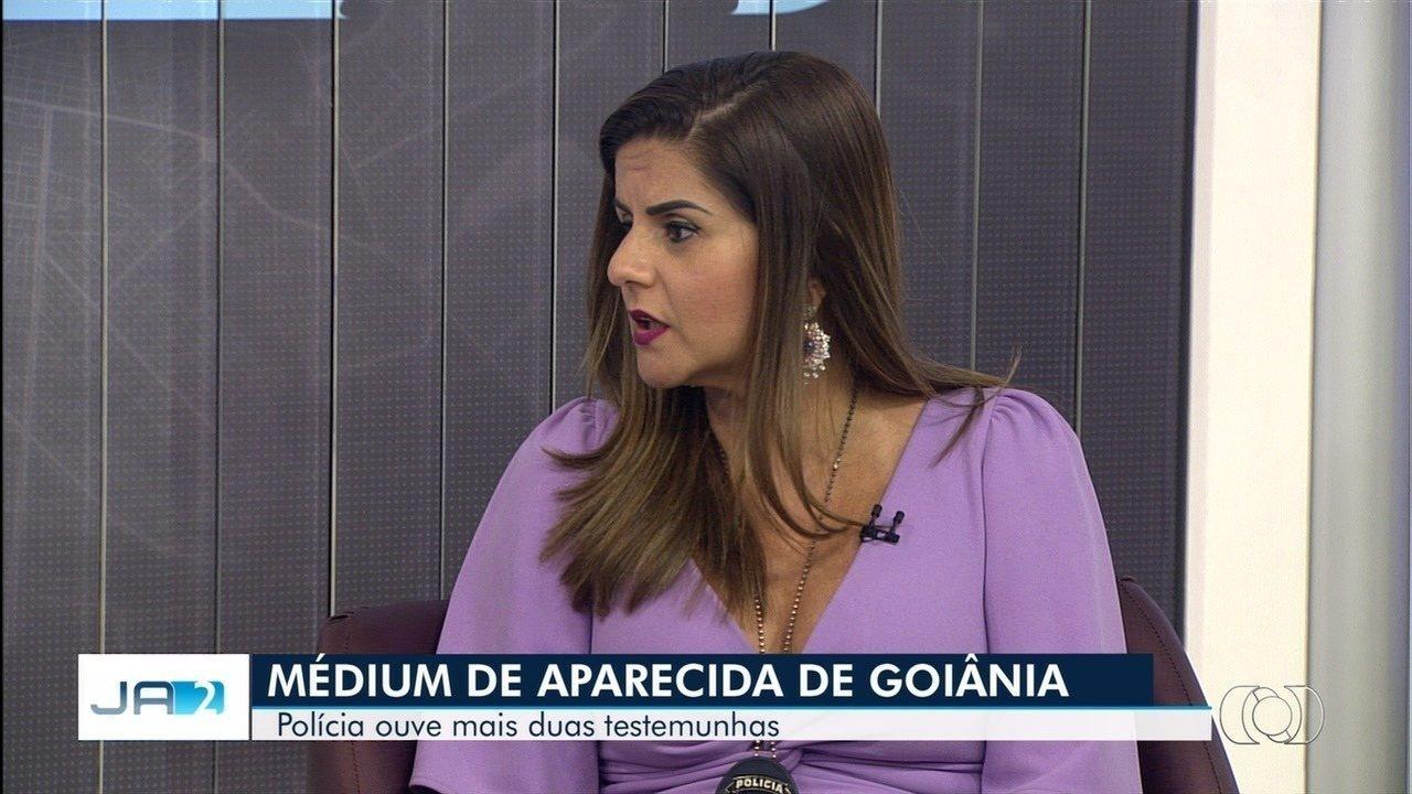 Delegada de Goiás ouve novas pessoas sobre médium suspeito de homicídio na Bahia