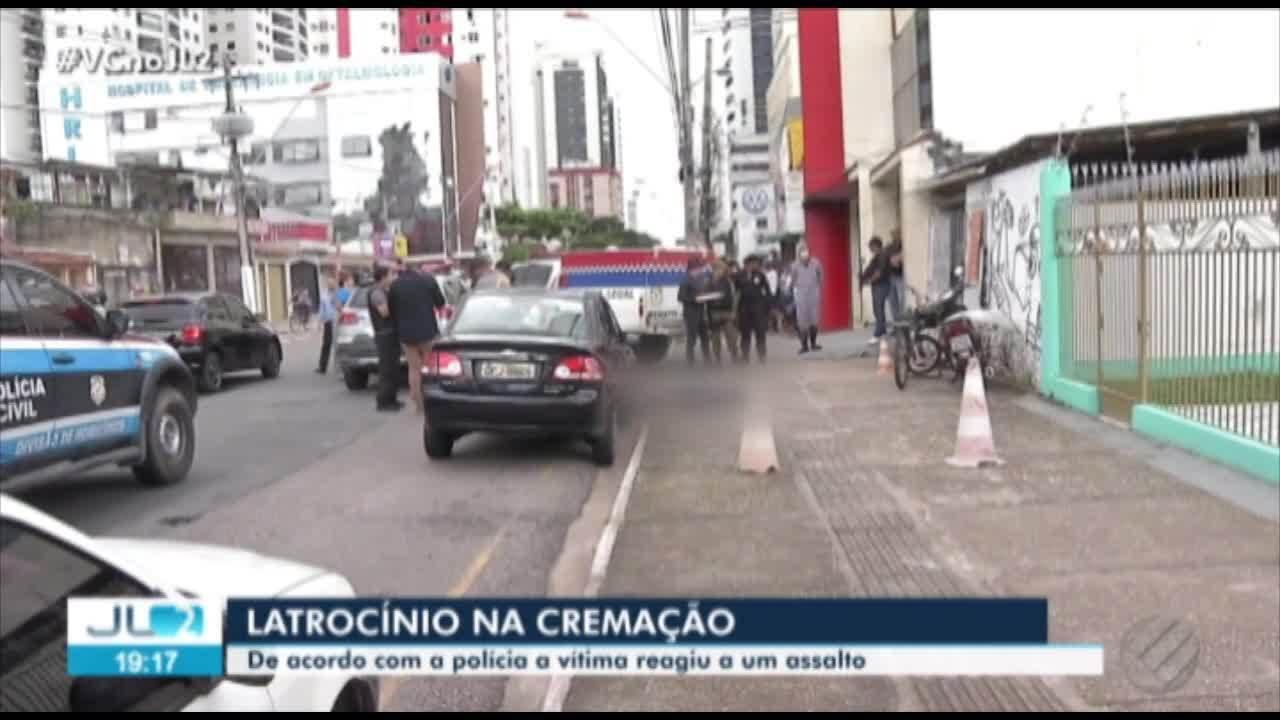 Homem é morto a tiros durante assalto no bairro da Cremação, em Belém