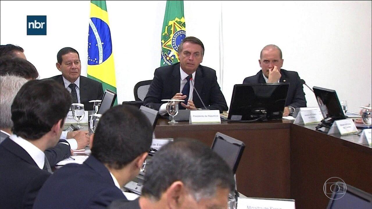 Segunda reunião ministerial do governo tem Previdência na pauta