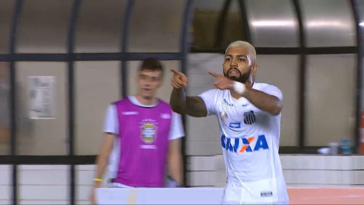 Confira os 22 gols que Gabigol marcou pelo Santos no Brasileiro e na Copa do Brasil 2018