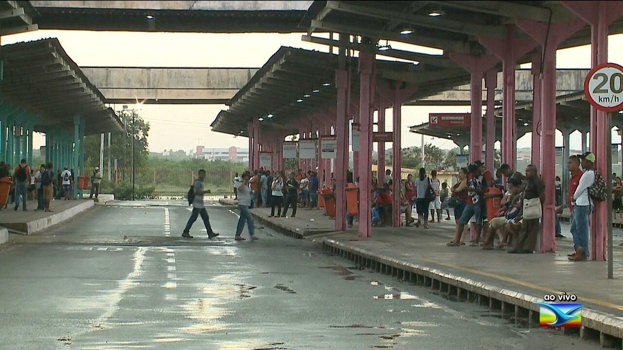 Passageiro morre atropelado dentro de Terminal de Integração em São Luís