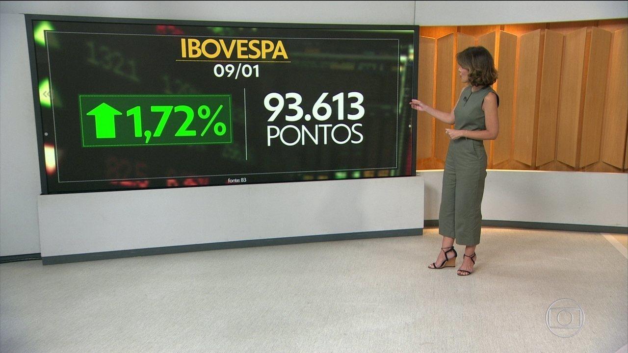 Expectativa pela Reforma da Previdência faz bolsa subir e dólar cair