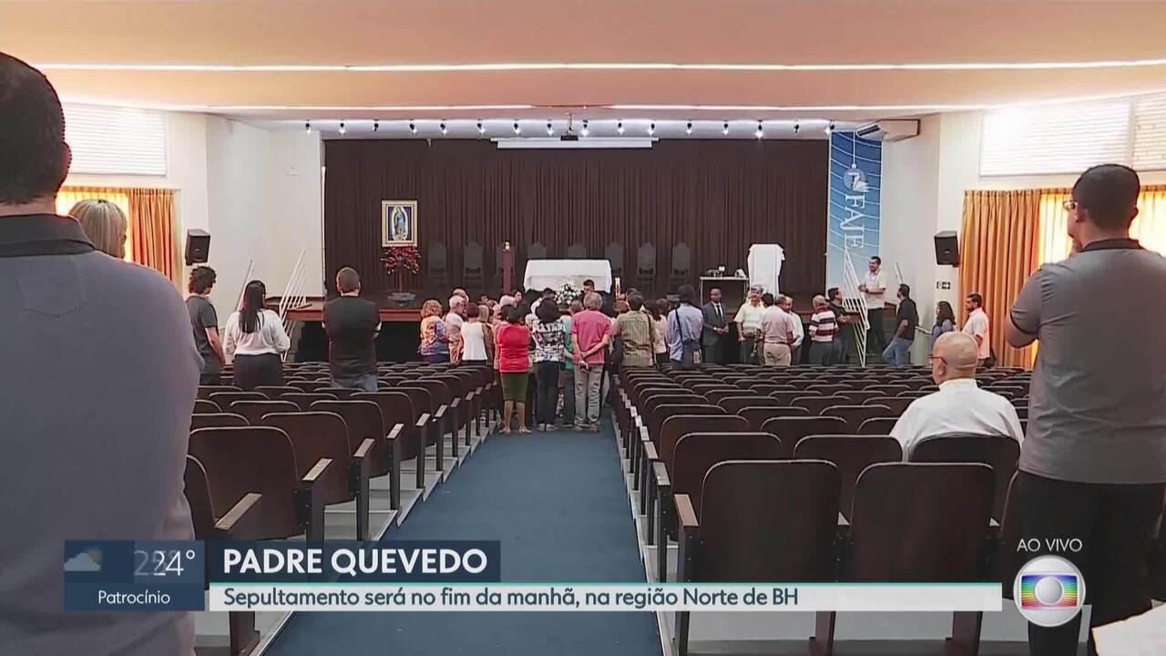 Padre Quevedo é velado em Belo Horizonte