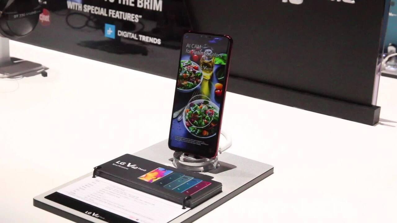 LG V40 ThinQ: conheça o celular de cinco câmeras