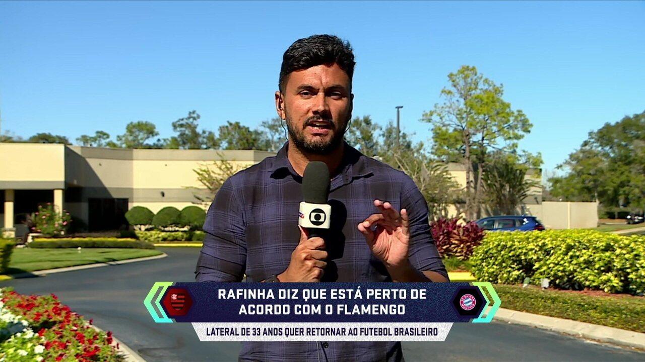 Central do Mercado: Cahê Mota explica a possível contratação do Rafinha pelo Flamengo