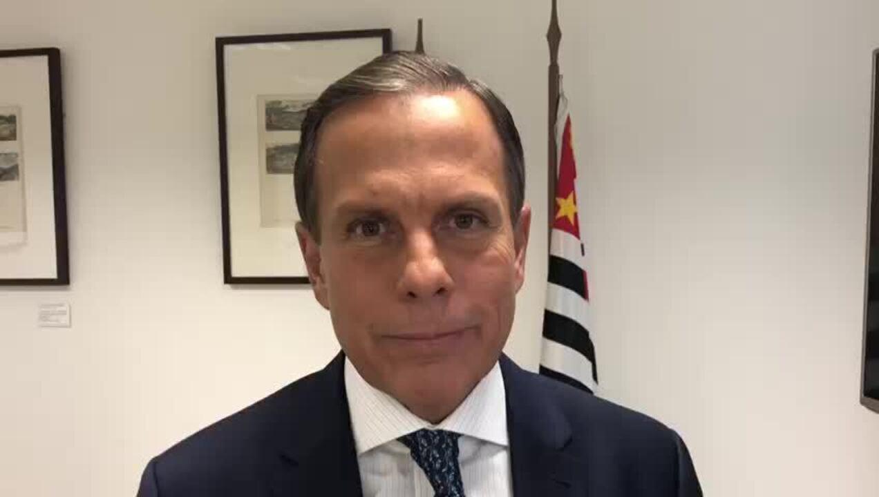 Doria diz que acha difícil governadores serem contra reforma da Previdência