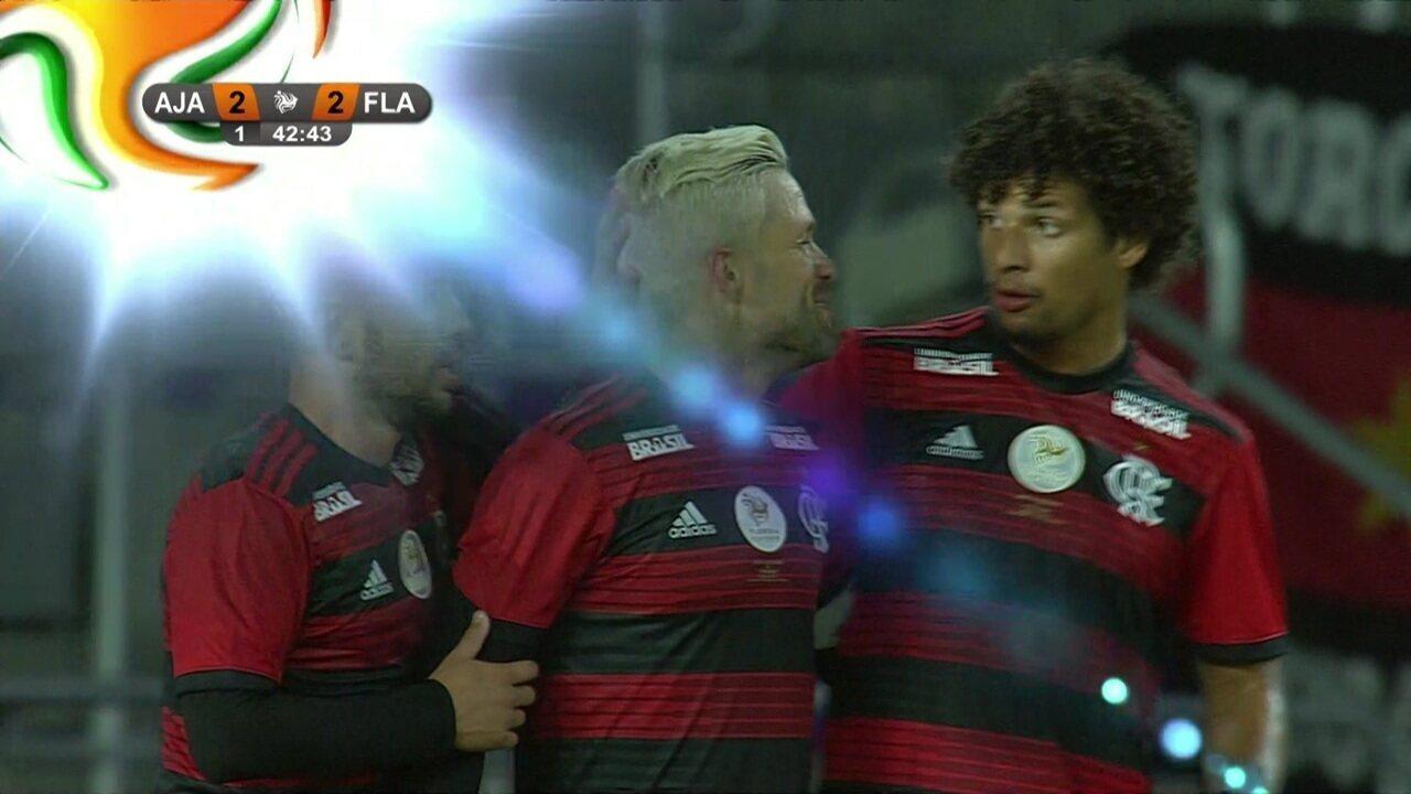 Melhores momentos de Ajax 2 (3) x (4) 2 Flamengo pelo Torneio da Flórida
