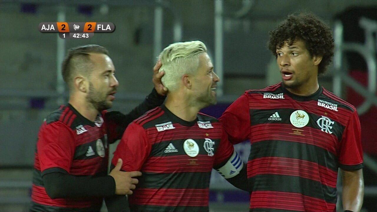 Os gols de Ajax 2 (3) x (4) 2 Flamengo pelo Torneio da Flórida