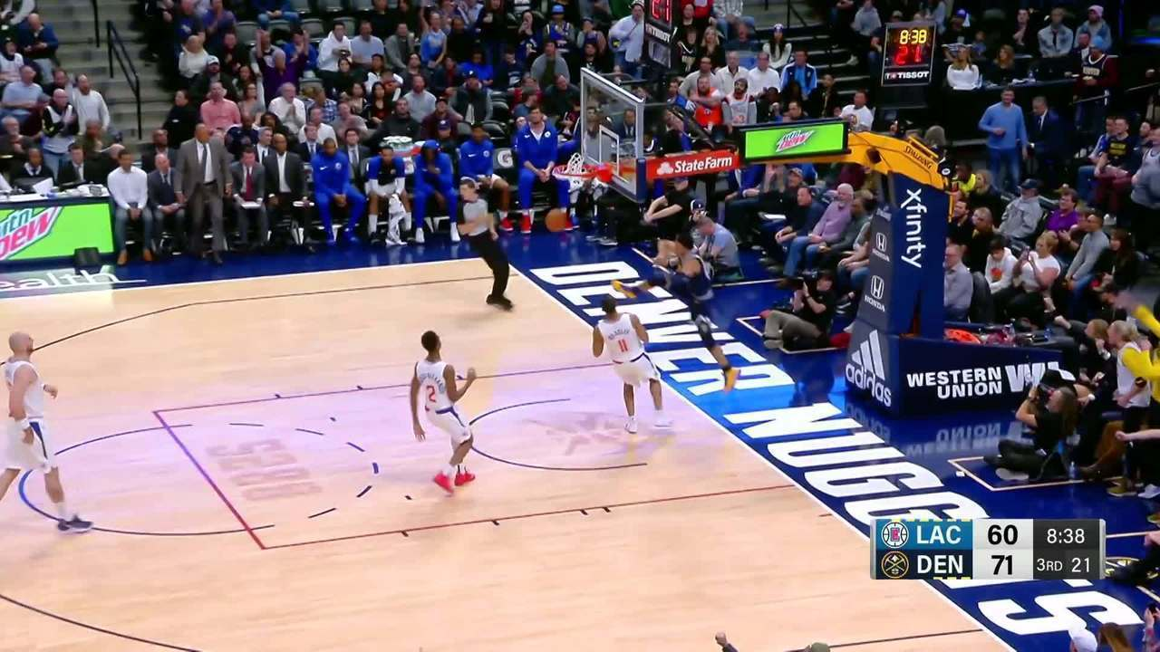 Melhores momentos: Nuggets 121 x 100 Clippers pela NBA