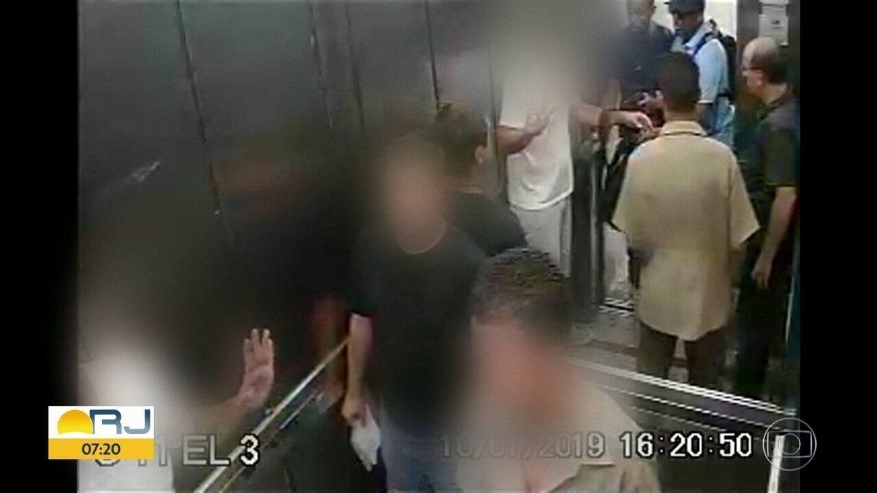Homem é vítima de saidinha de banco, no centro do Rio