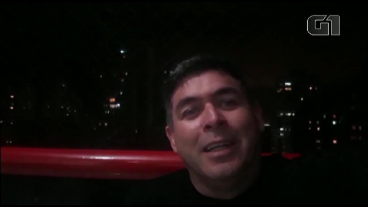Ex-jogador Robgol envia mensagem para aniversário de Belém