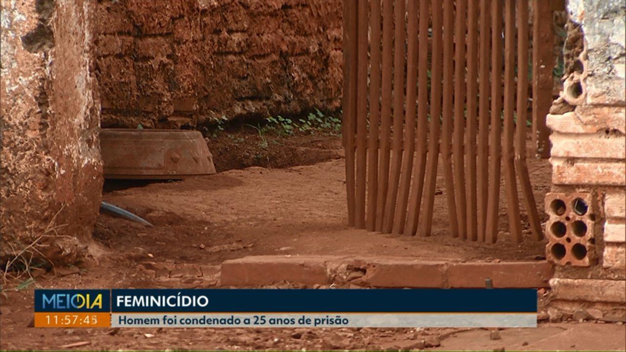 Homem é condenado a 25 anos de prisão por feminicídio em Cascavel