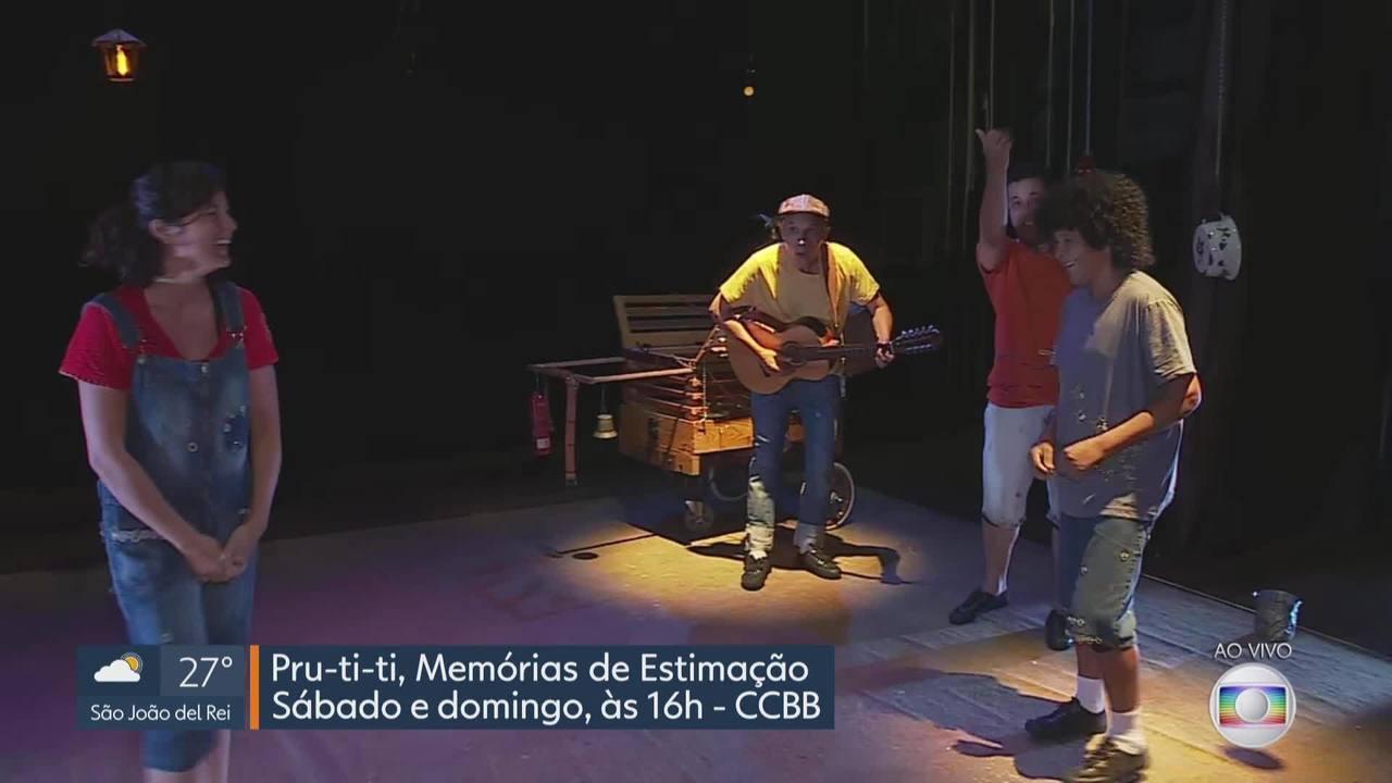 MG Cultura: exposição e teatro são destaque na programação do fim de semana