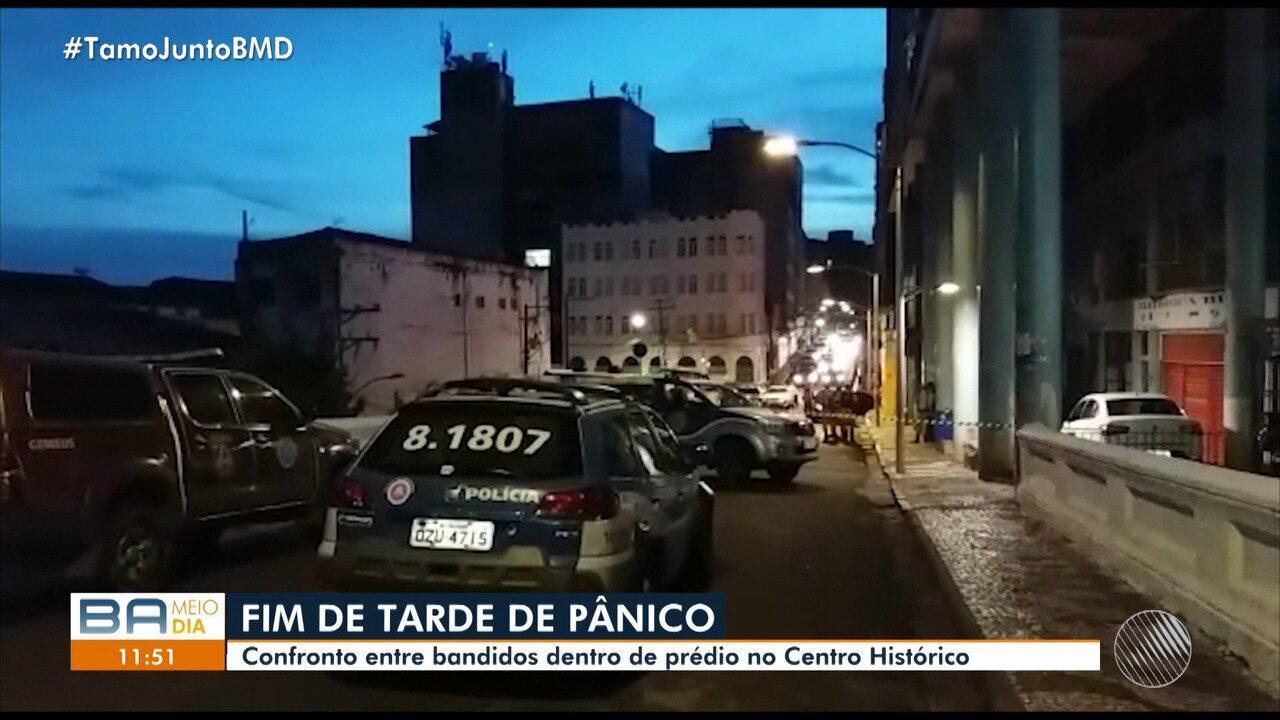 Após tiroteio, moradores e comerciantes estão apreensivos no Pelourinho,