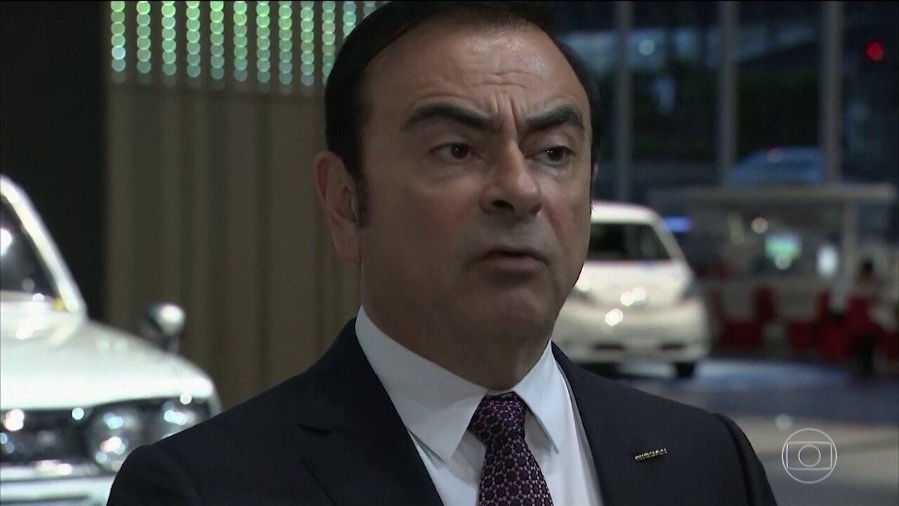 Promotoria do Japão faz novas acusações contra ex-presidente da Nissan, Carlos Ghosn