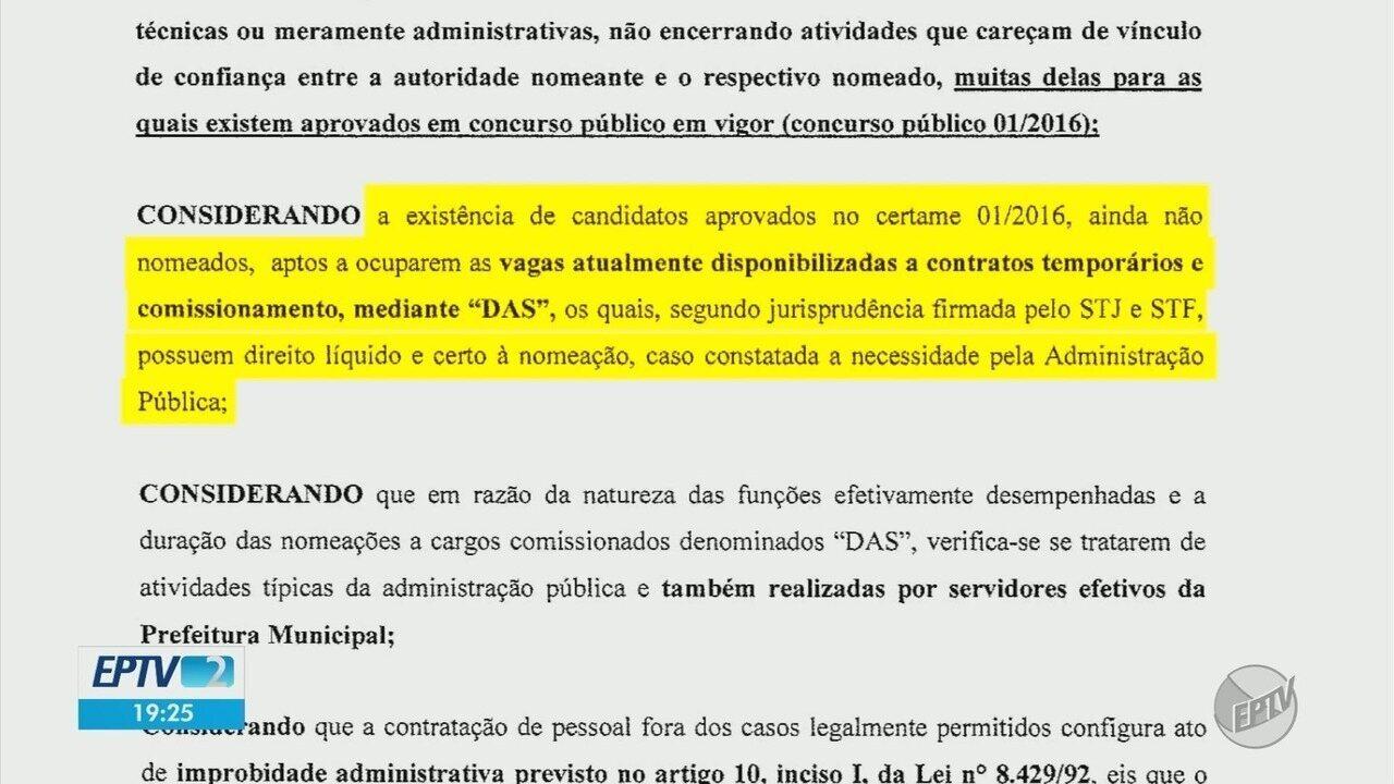 Por recomendação do MP, Prefeitura de Alfenas deve demitir 150 funcionários