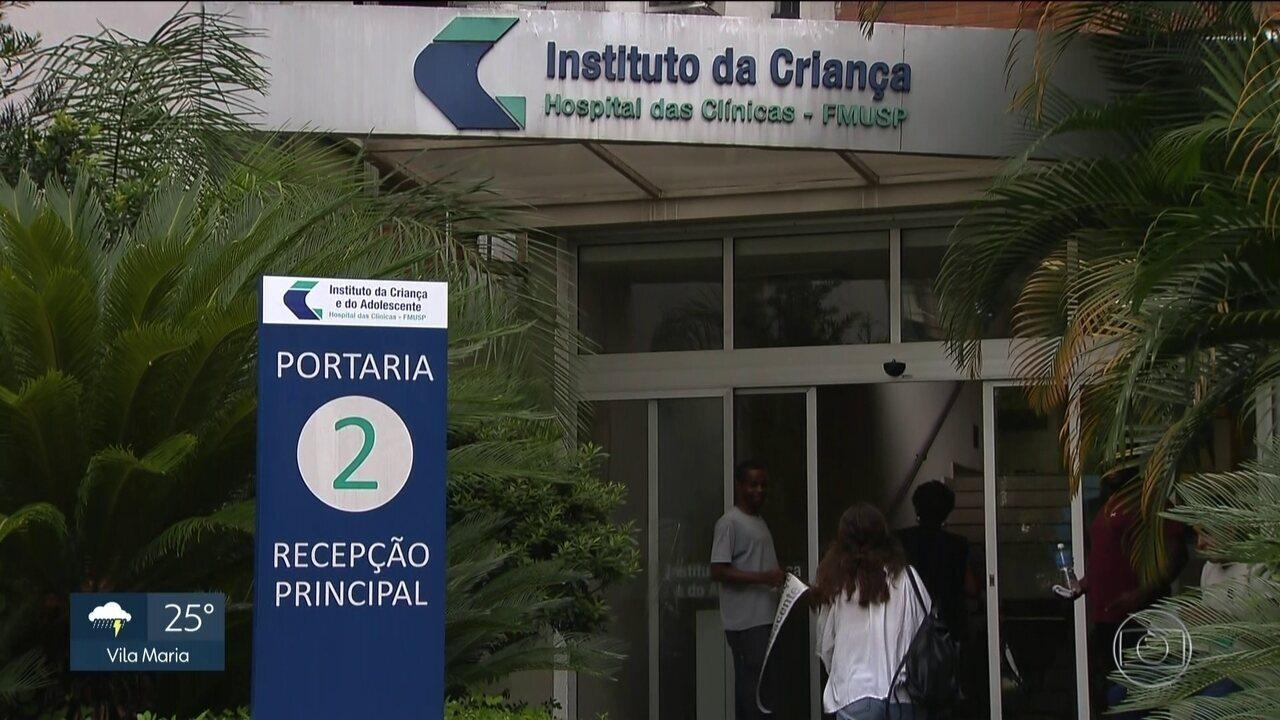 Criança de Santa Catarina vem para SP em busca de um rim
