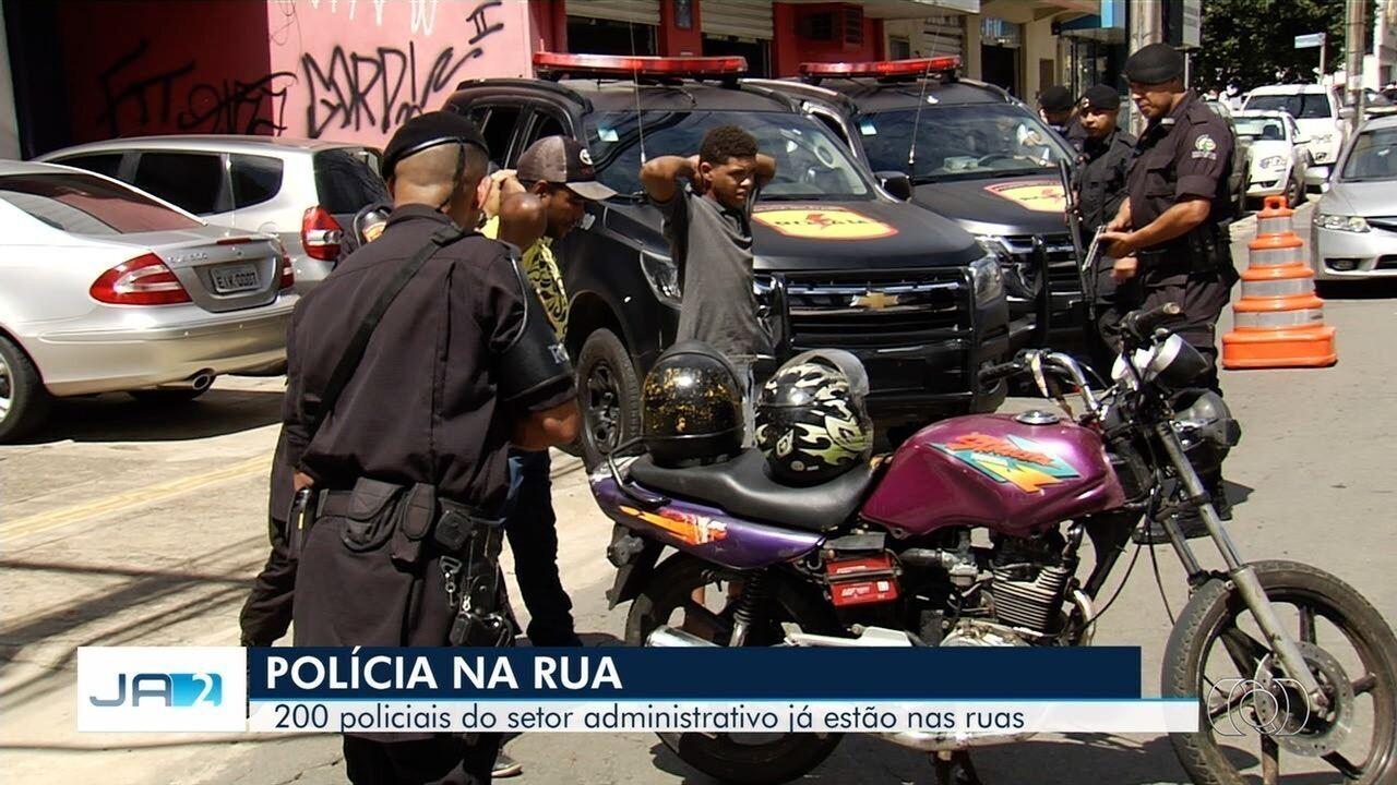 SSP retira 200 policiais de funções administrativas e reforça efetivo nas ruas de Goiânia