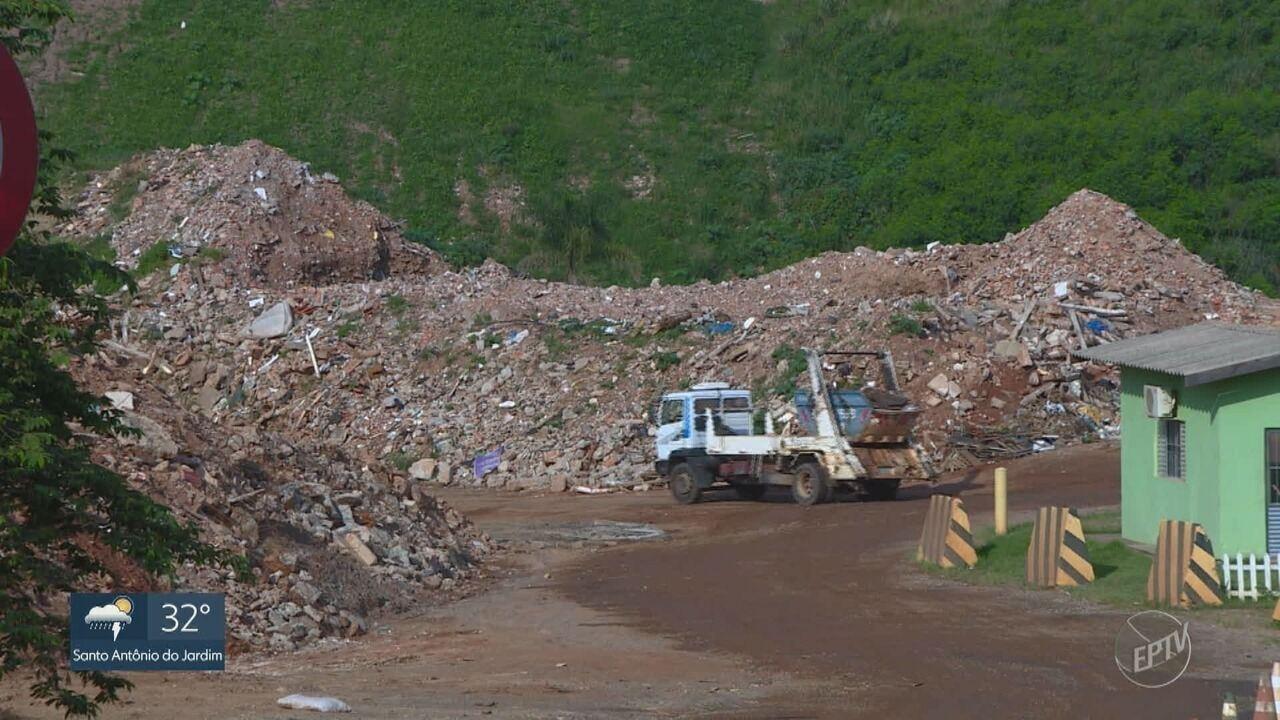Caçambeiros reclamam da dificuldade que enfrentam na usina de reciclagem de Campinas
