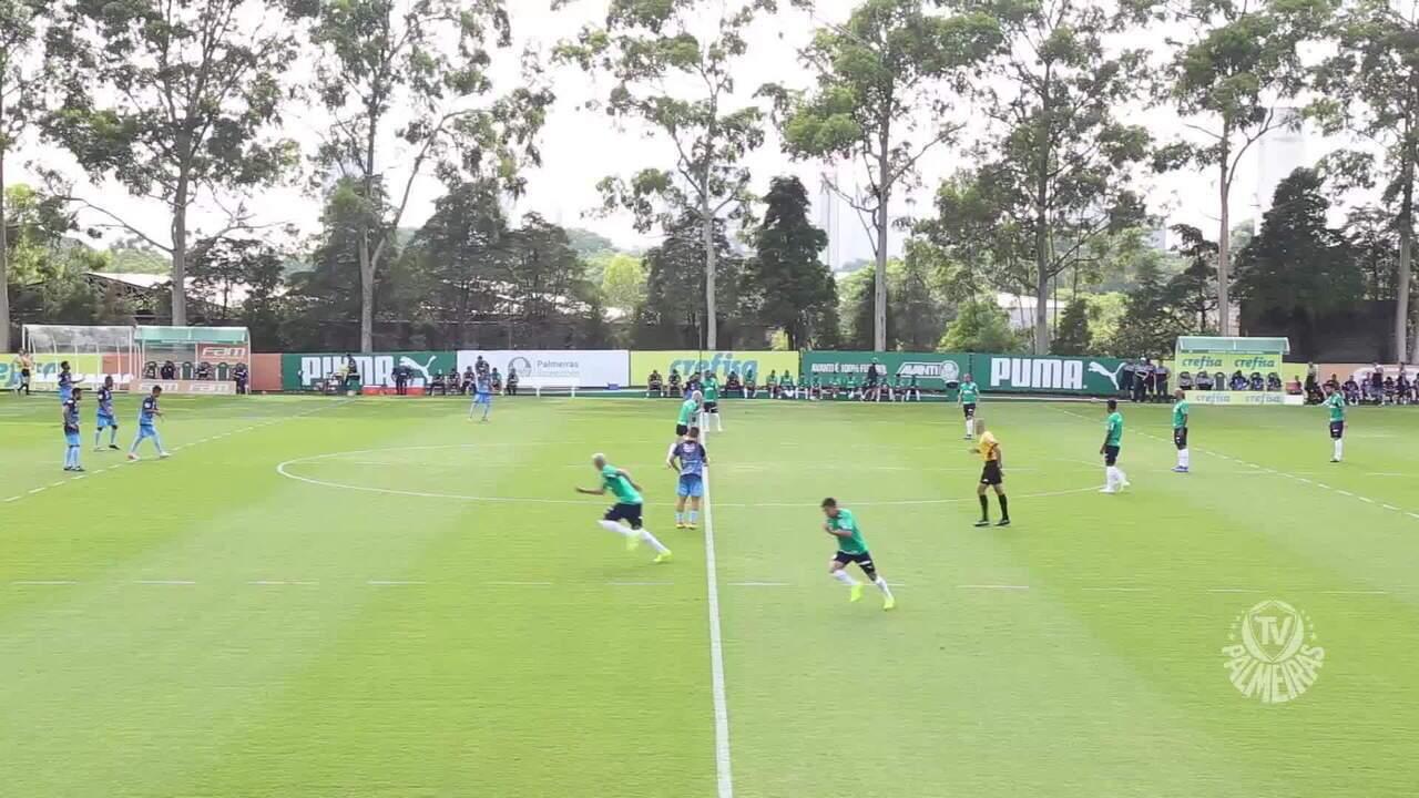 Palmeiras vence Comercial em jogo-treino