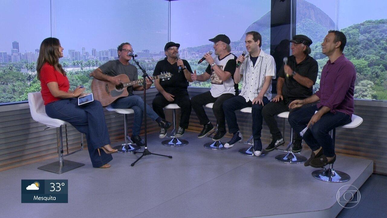 A banda The Fevers faz show hoje na Sala Baden Powell, em Copacabana