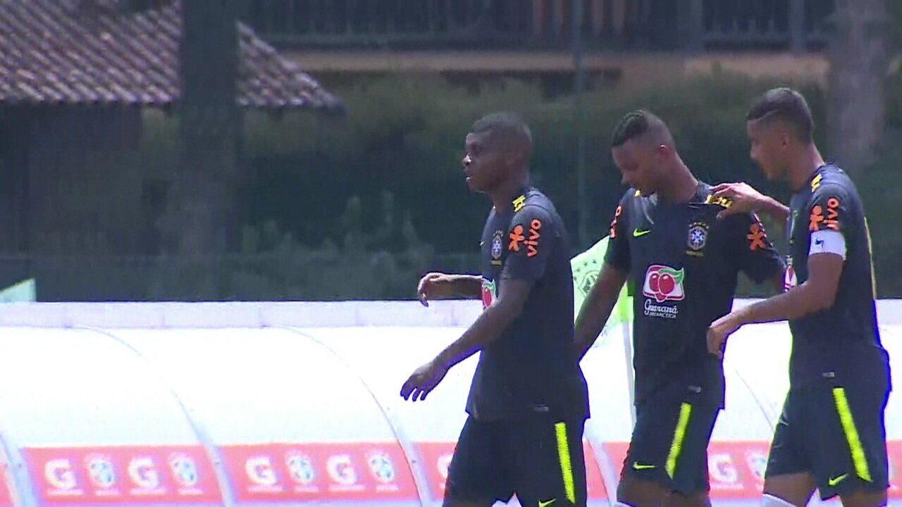 Lincoln marca, mas seleção sub-20 para o Boavista em jogo treino