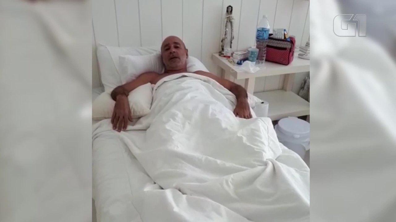 Queiroz divulga vídeo em que explica 'dança' em hospital