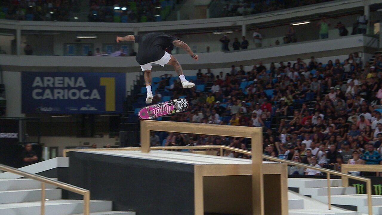 Nyjah Huston conquista etapa do Rio de Janeiro do mundial de skate street