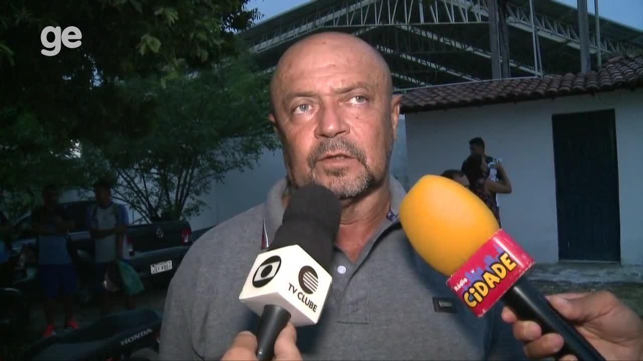 Adelmo Soares direciona derrota do Parnahyba em amistoso a desconcentração do time