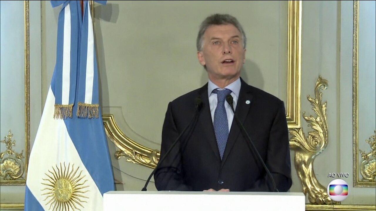 Bolsonaro se reúne com o presidente da Argentina