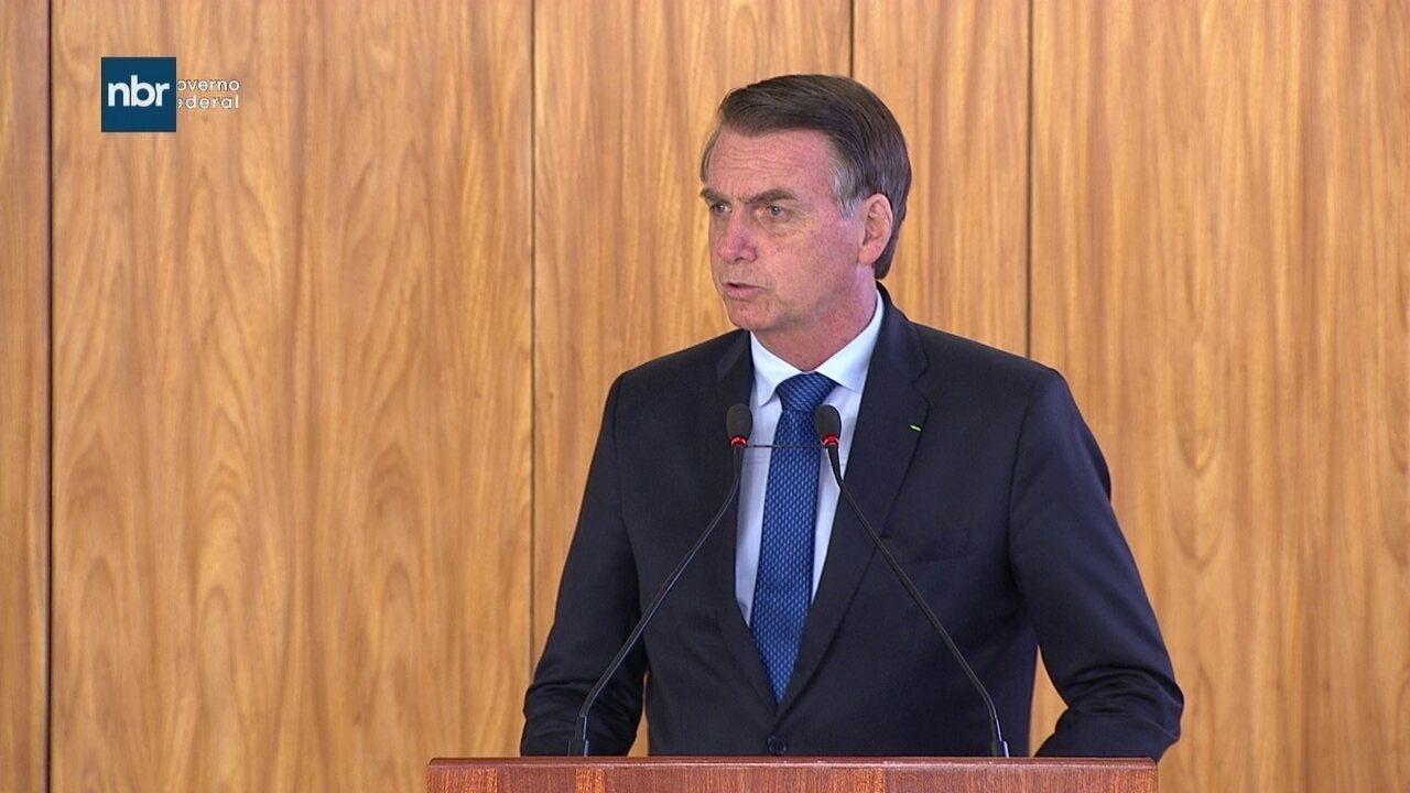 Jair Bolsonaro defende a necessidade de aperfeiçoar o Mercosul