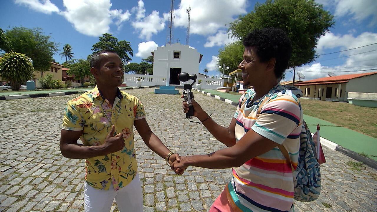O 'Vumbora' conhece a cultura, a tradição e as belezas naturais do povoado de Palame