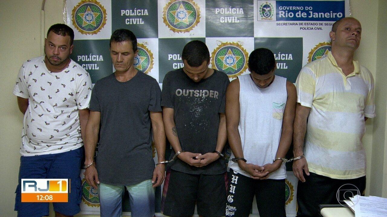 Polícia prende cinco bandidos acusados de sequestros no Leblon