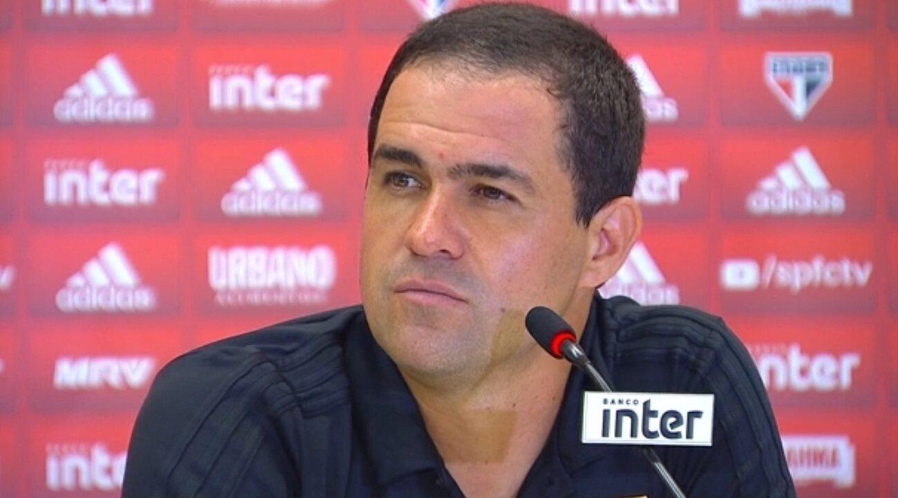 Confira a íntegra da coletiva de André Jardine após a vitória do São Paulo sobre o Mirassol