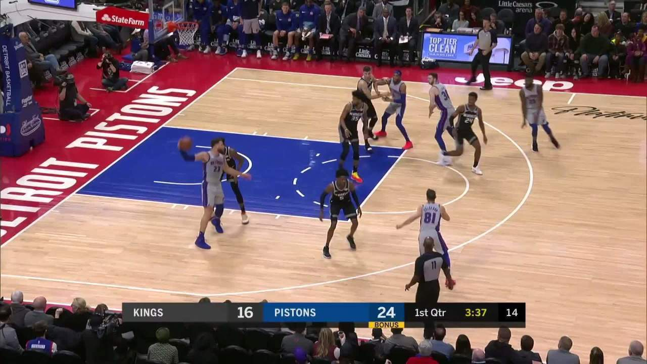 Melhores momentos: Sacramento Kings 103 x 101 Detroit Pistons