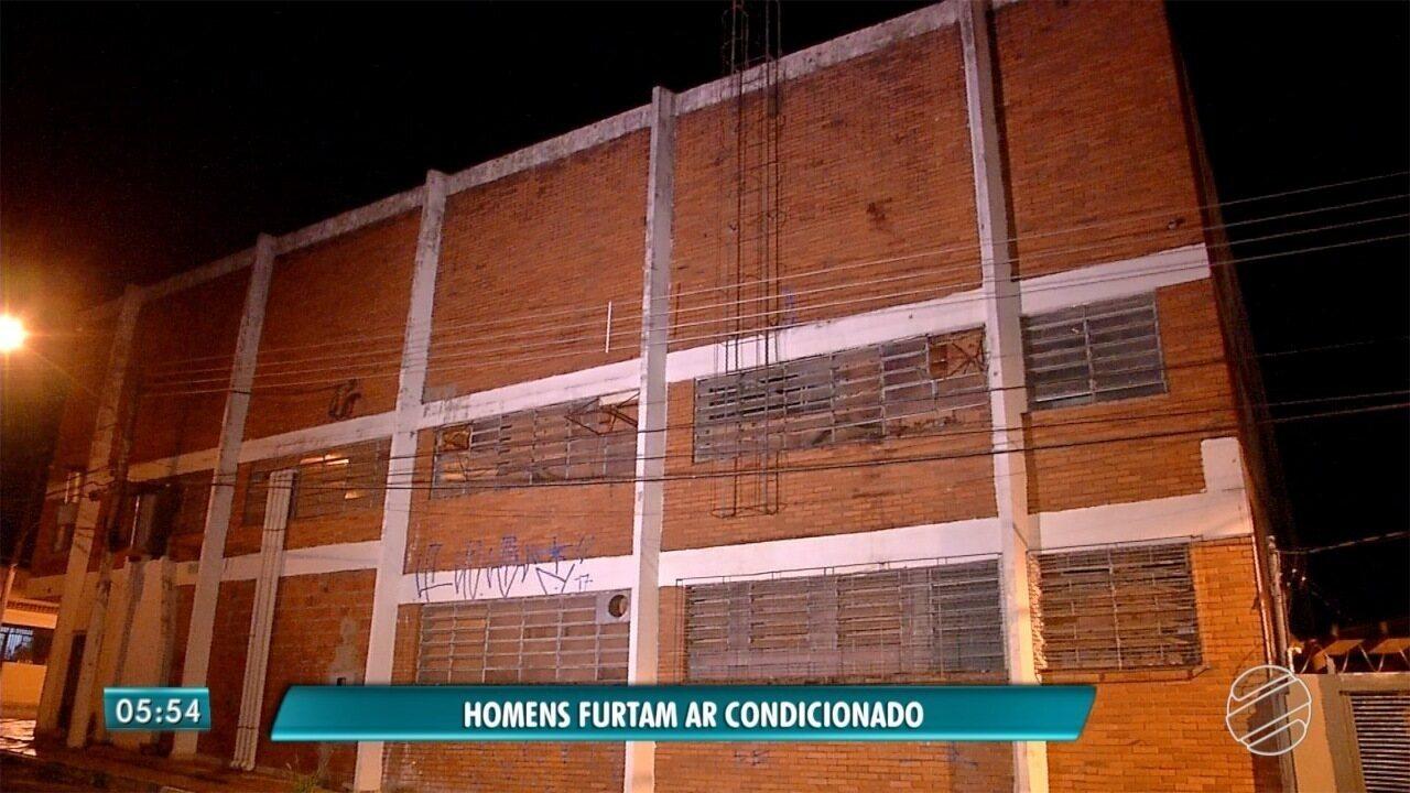 Dois são presos por furto de ar-condicionados em Campo Grande