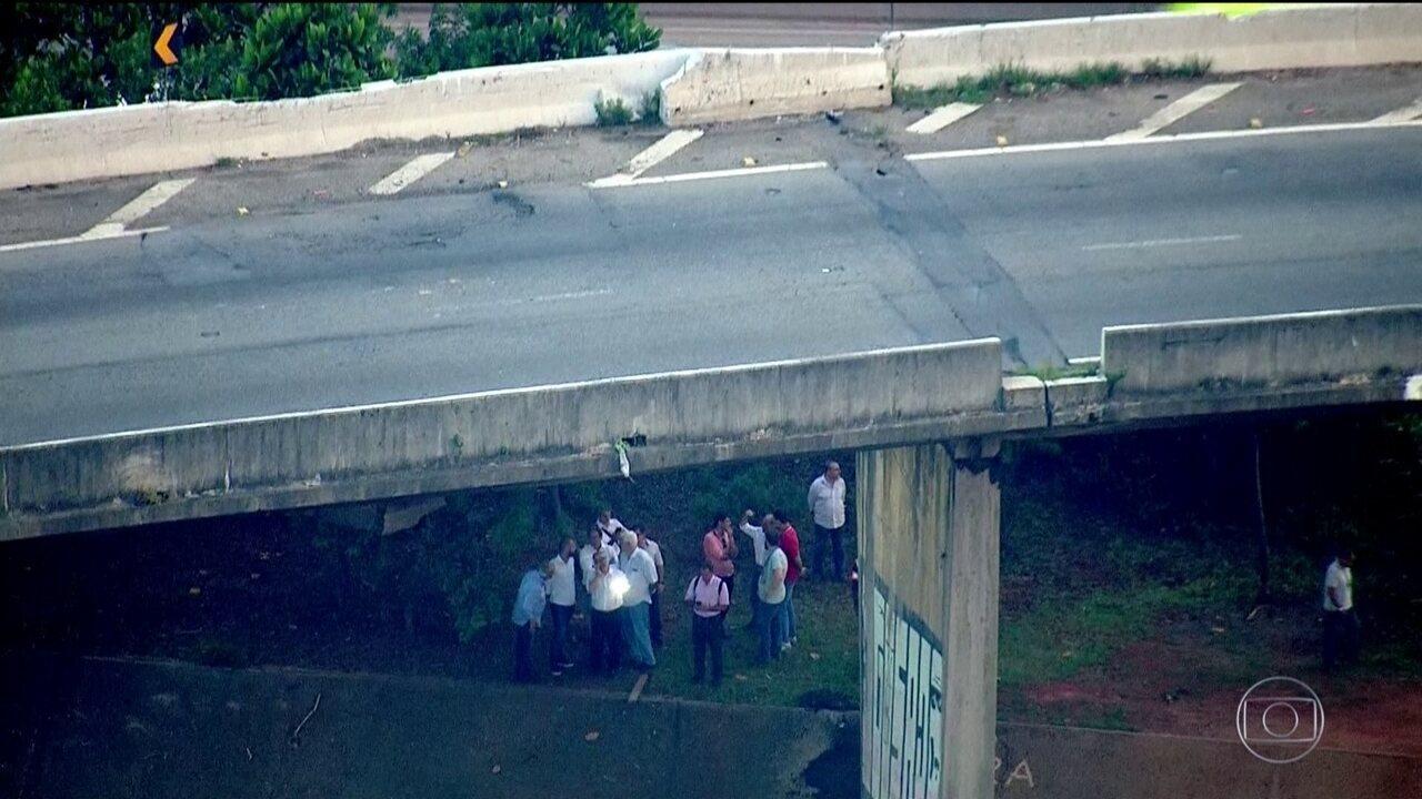 Prefeitura de São Paulo interdita interdita mais um viaduto da cidade