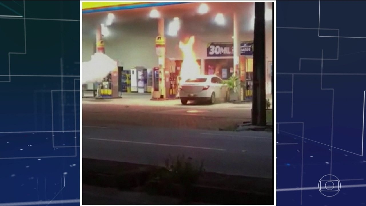 Bandidos atacam postos de combustíveis no Ceará
