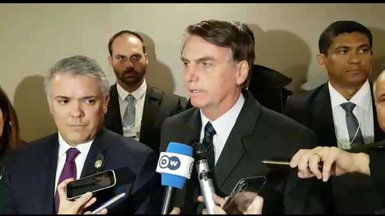 Brasil reconhece Juan Guaidó como presidente encarregado da Venezuela