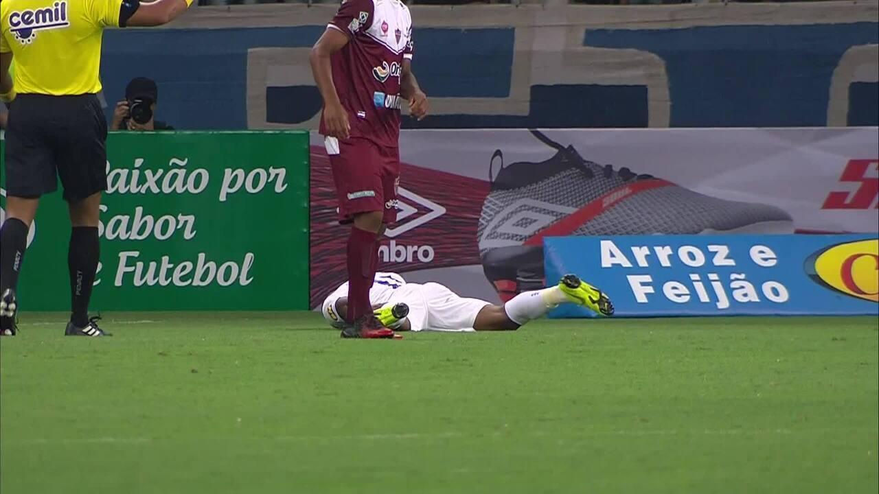 David relata dor similar à de última lesão no Cruzeiro e torce para ... fb169469ed599