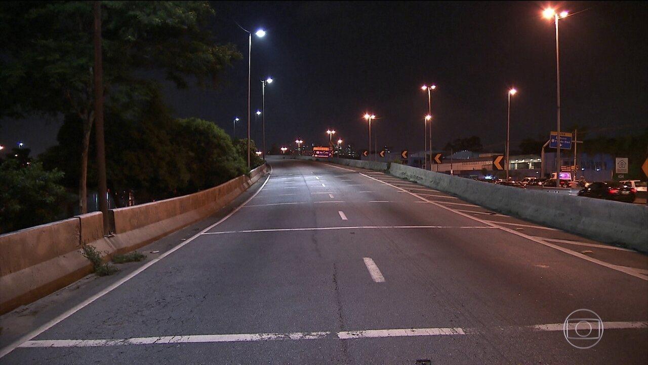 Prefeitura de São Paulo interdita ponte que liga a Marginal Tietê à Via Dutra