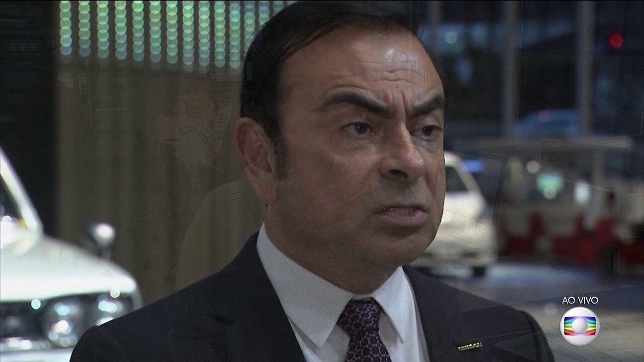 Carlos Ghosn renuncia à presidência da Renault