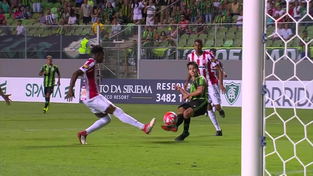 Melhores momentos de América-MG 3 x 0 Villa Nova, pelo Campeonato Mineiro